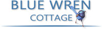 Blue Wren Cottage Logo, Bogan Downs, Coolabah Accommodation